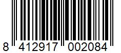 Código de barras: Pimentón de la Vera dulce Hacendado