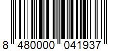 Código de barras: Aceite de coco virgen Hacendado