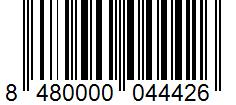 Código de barras: Aceite refinado de semillas Hacendado