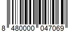Código de barras: Aceite de oliva virgen extra gran selección Hacendado
