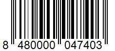 Código de barras: Aceite de oliva virgen extra Hacendado