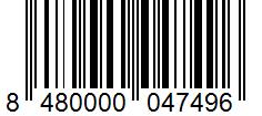 Código de barras: Aceite de oliva virgen Hacendado