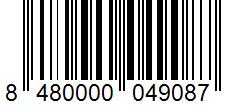 Código de barras: Crema de vinagre balsámico de Módena Hacendado