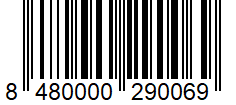 Código de barras: Bicarbonato de sodio Hacendado
