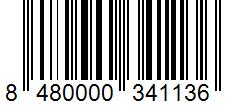 Código de barras: Ñoras secas Hacendado