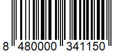 Código de barras: Azafrán en hebras Hacendado