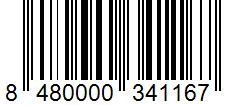 Código de barras: Azafrán molido Hacendado