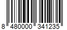 Código de barras: Anís en grano Hacendado