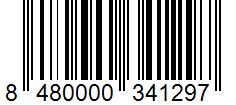 Código de barras: 8480000341297