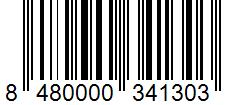 Código de barras: Sal de ajo Hacendado