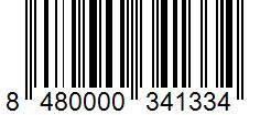Código de barras: 8480000341334