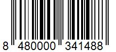 Código de barras: Vainilla en rama Hacendado