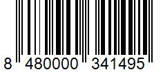 Código de barras: Jengibre molido Hacendado