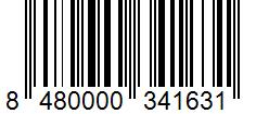 Código de barras: Cúrcuma molida Hacendado