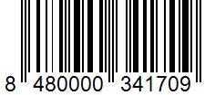 Código de barras: Pimienta blanca molida Hacendado
