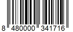 Código de barras: Pimienta negra molida Hacendado