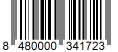 Código de barras: Pimienta negra en grano Hacendado