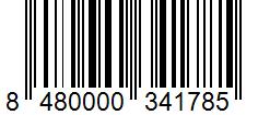Código de barras: Cayena guindillas Hacendado