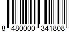 Código de barras: Orégano Hacendado