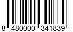 Código de barras: Pimentón picante Hacendado