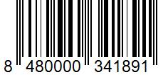 Código de barras: Molinillo mix de pimientas Hacendado