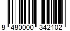 Código de barras: Piñones ibéricos Hacendado