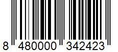 Código de barras: Pimentón de la Vera picante Hacendado