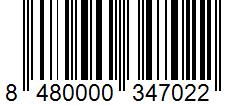 Código de barras: Sazonador para paella con azafrán Hacendado