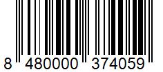 Código de barras: Sazonador para ensalada Hacendado
