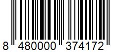 Código de barras: Cayena molida Hacendado